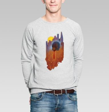 Городской шаман - Купить мужские свитшоты с городами в Москве, цена мужских  с городами  с прикольными принтами - магазин дизайнерской одежды MaryJane