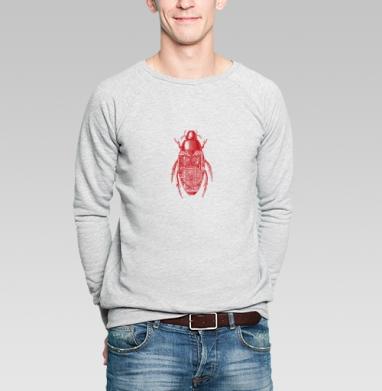 Жук - Купить мужские свитшоты с роботами в Москве, цена мужских свитшотов с роботами с прикольными принтами - магазин дизайнерской одежды MaryJane