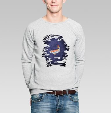 Карп - Купить мужские свитшоты с символами в Москве, цена мужских свитшотов с символом с прикольными принтами - магазин дизайнерской одежды MaryJane