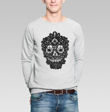 Кружавчики - Купить мужские свитшоты с черепом в Москве, цена мужских свитшотов с черепом  с прикольными принтами - магазин дизайнерской одежды MaryJane