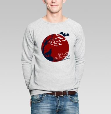 Let's get thriller party started - Купить мужские свитшоты с волками в Москве, цена мужских свитшотов с волками  с прикольными принтами - магазин дизайнерской одежды MaryJane
