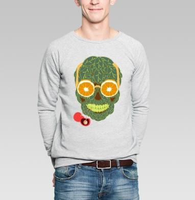 Life is beautiful - Купить мужские свитшоты с фруктами в Москве, цена мужских свитшотов с фруктами  с прикольными принтами - магазин дизайнерской одежды MaryJane
