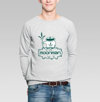 Moonman - Купить мужские свитшоты с космосом в Москве, цена мужских свитшотов с космосом  с прикольными принтами - магазин дизайнерской одежды MaryJane