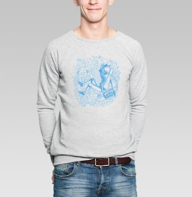 Music Mix - Купить мужские свитшоты с городами в Москве, цена мужских свитшотов с городами  с прикольными принтами - магазин дизайнерской одежды MaryJane