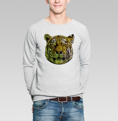 MyCharacter - Купить мужские свитшоты с тигром в Москве, цена мужских свитшотов с тиграми  с прикольными принтами - магазин дизайнерской одежды MaryJane
