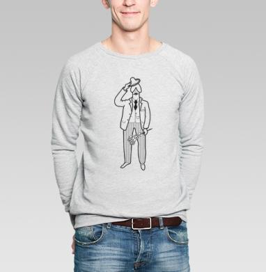 Noblesse oblige - Купить мужские свитшоты секс в Москве, цена мужских свитшотов секс  с прикольными принтами - магазин дизайнерской одежды MaryJane