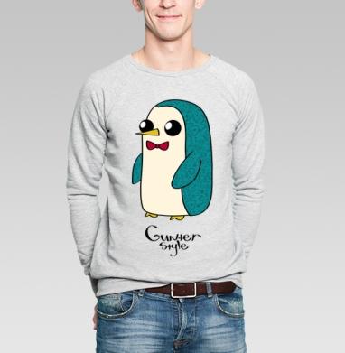 Новогодний Гюнтер - Купить мужские свитшоты с мороженным в Москве, цена мужских  с мороженным  с прикольными принтами - магазин дизайнерской одежды MaryJane