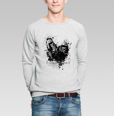 Нужен отдых? - Купить мужские свитшоты с надписями в Москве, цена мужских свитшотов с надписями  с прикольными принтами - магазин дизайнерской одежды MaryJane