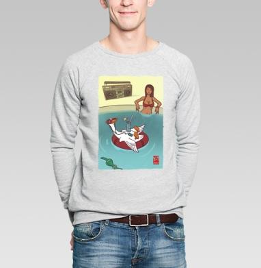 Правильный отдых - Купить мужские свитшоты с летом в Москве, цена мужских  с летом  с прикольными принтами - магазин дизайнерской одежды MaryJane