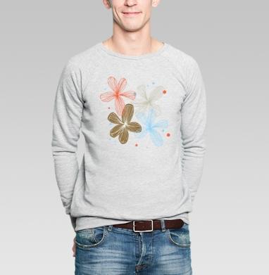 Прозрачный день - Купить мужские свитшоты романтика в Москве, цена мужских  романтических  с прикольными принтами - магазин дизайнерской одежды MaryJane