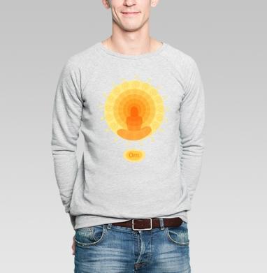 Shiny mandala - Купить мужские свитшоты с йогой в Москве, цена мужских свитшотов с йогой  с прикольными принтами - магазин дизайнерской одежды MaryJane