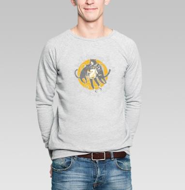 Street Cats - Купить мужские свитшоты с городами в Москве, цена мужских свитшотов с городами  с прикольными принтами - магазин дизайнерской одежды MaryJane