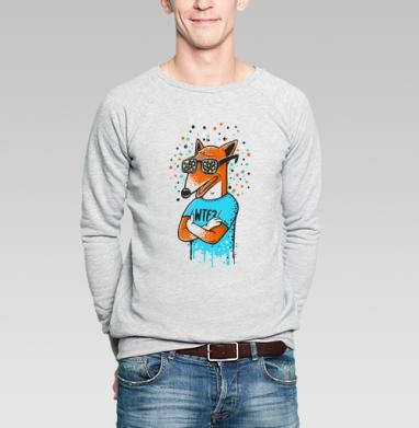WTF? - Купить мужские свитшоты нежность в Москве, цена мужских свитшотов нежность  с прикольными принтами - магазин дизайнерской одежды MaryJane