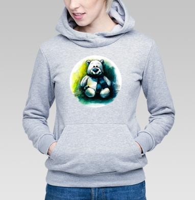 Плюшевый мишка - Купить детские толстовки со смайлами в Москве, цена детских толстовок со смайлами с прикольными принтами - магазин дизайнерской одежды MaryJane