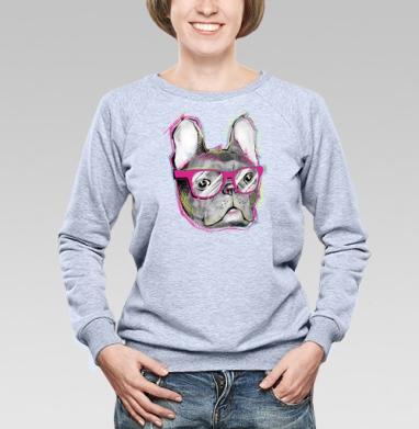 Бульдожка - Купить детские свитшоты с собаками в Москве, цена детских свитшотов с собаками  с прикольными принтами - магазин дизайнерской одежды MaryJane