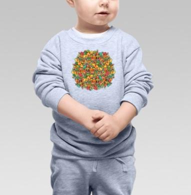 Найди дерево  - Купить детские свитшоты с деревьями в Москве, цена детских свитшотов с деревьями  с прикольными принтами - магазин дизайнерской одежды MaryJane