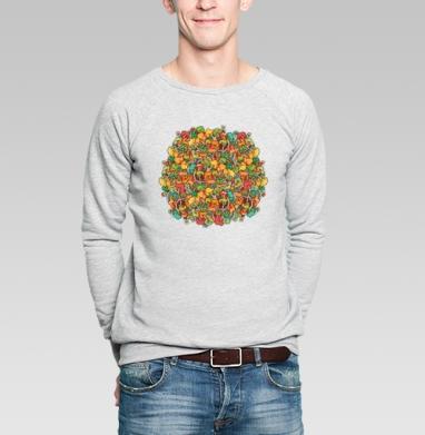 Найди дерево  - Купить мужские свитшоты с деревьями в Москве, цена мужских свитшотов с деревьями  с прикольными принтами - магазин дизайнерской одежды MaryJane