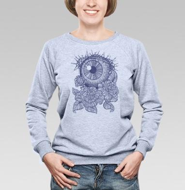 Я тебя вижу  - Купить женские свитшоты с роами в Москве, цена женских свитшотов с розой с прикольными принтами - магазин дизайнерской одежды MaryJane
