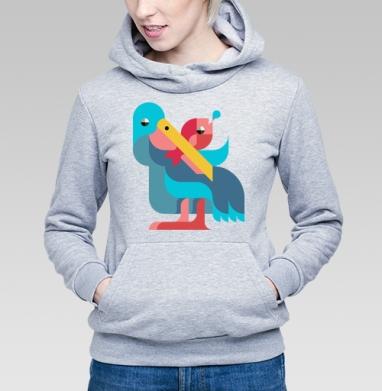 Пеликан - Купить детские толстовки с птицами в Москве, цена детских толстовок с птицами  с прикольными принтами - магазин дизайнерской одежды MaryJane