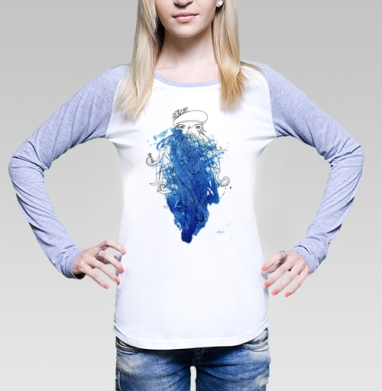 Синяя Борода - Футболки с длинным рукавом женские