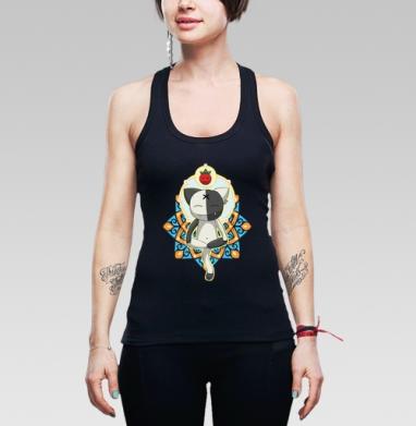 Meditation - Купить мужские Майки-борцовки с йогой в Москве, цена мужских  с йогой  с прикольными принтами - магазин дизайнерской одежды MaryJane