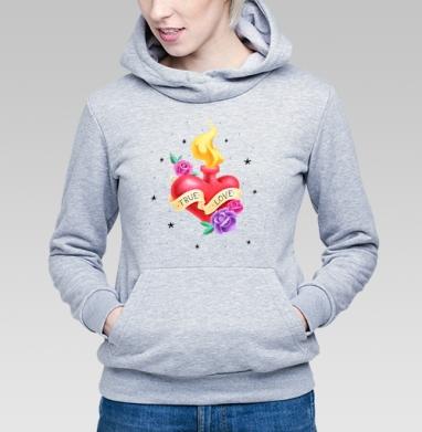 Тру лав - Купить детские толстовки с татуировками в Москве, цена детских  с татуировками  с прикольными принтами - магазин дизайнерской одежды MaryJane