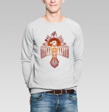 Громовая птица - Купить мужские свитшоты с индейцами в Москве, цена мужских  с индейцами  с прикольными принтами - магазин дизайнерской одежды MaryJane