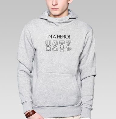 НАГРАДЫ ДЛЯ ГЕРОЯ - Толстовка супермен мужская