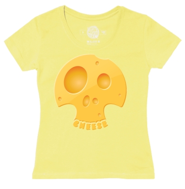 Футболка женская желтая - Чииииииз
