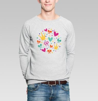 Маленькая принцесса - Купить мужские свитшоты милые в Москве, цена мужских свитшотов милых  с прикольными принтами - магазин дизайнерской одежды MaryJane