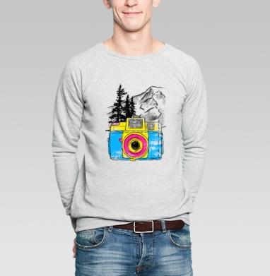 Путешествуй - Купить мужские свитшоты с природой в Москве, цена мужских свитшотов с природой  с прикольными принтами - магазин дизайнерской одежды MaryJane