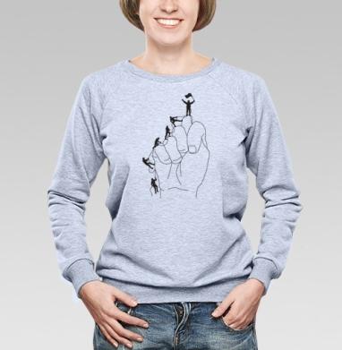 АЛЬПИНИСТЫ - Купить детские свитшоты спортивные в Москве, цена детских свитшотов спортивных  с прикольными принтами - магазин дизайнерской одежды MaryJane