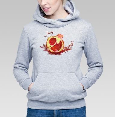 Сочный гранат - Купить детские толстовки с фруктами в Москве, цена детских толстовок с фруктами  с прикольными принтами - магазин дизайнерской одежды MaryJane