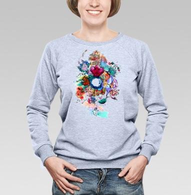 Имэджин - Купить детские свитшоты абстрактные в Москве, цена детских свитшотов абстрактных  с прикольными принтами - магазин дизайнерской одежды MaryJane
