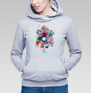 Имэджин - Купить детские толстовки абстрактные в Москве, цена детских толстовок абстрактных  с прикольными принтами - магазин дизайнерской одежды MaryJane