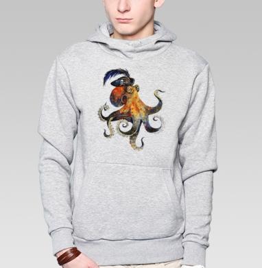 Пиратский осьминог - Толстовки.