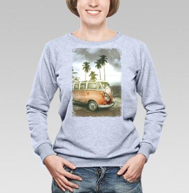 Куба рядом - Купить женские свитшоты с автомобилями в Москве, цена женских свитшотов с автомобилями  с прикольными принтами - магазин дизайнерской одежды MaryJane