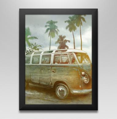 Куба рядом, Постер в чёрной раме
