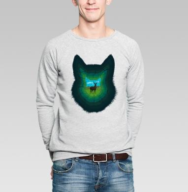 Лесная пещера - Купить мужские свитшоты с летом в Москве, цена мужских  с летом  с прикольными принтами - магазин дизайнерской одежды MaryJane
