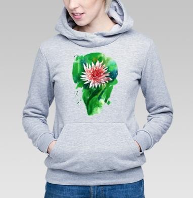 Цветок георгина - Купить детские толстовки абстрактные в Москве, цена детских толстовок абстрактных  с прикольными принтами - магазин дизайнерской одежды MaryJane