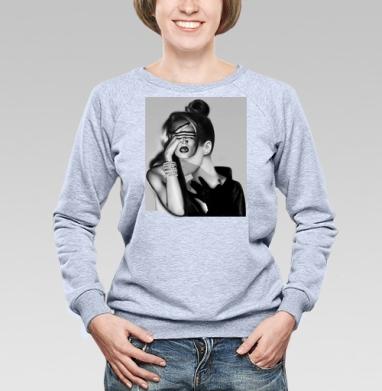 Девушка-загадка - Купить детские свитшоты модные в Москве, цена детских свитшотов модных  с прикольными принтами - магазин дизайнерской одежды MaryJane