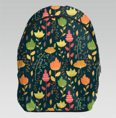 Цветочное ассорти - Рюкзак