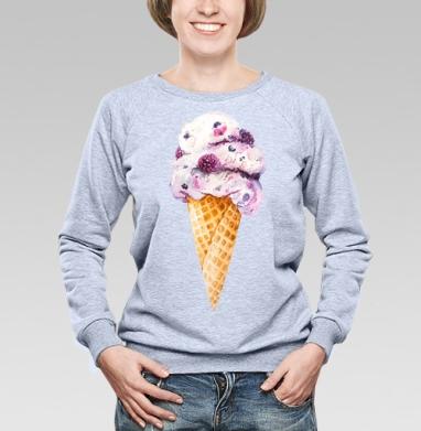 Мороженка - Купить детские свитшоты с фруктами в Москве, цена детских свитшотов с фруктами  с прикольными принтами - магазин дизайнерской одежды MaryJane