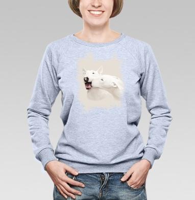 Любовь - Купить детские свитшоты с собаками в Москве, цена детских свитшотов с собаками  с прикольными принтами - магазин дизайнерской одежды MaryJane