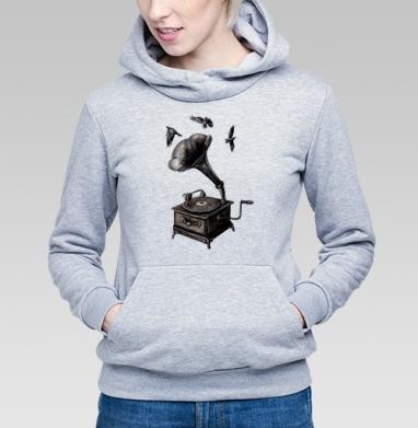 Музыка винтаж - Купить детские толстовки ретро в Москве, цена детских толстовок ретро  с прикольными принтами - магазин дизайнерской одежды MaryJane