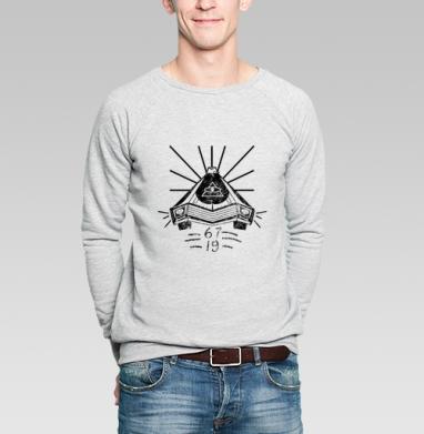 Ривьера  тысяча девятьсот шестьдесят седьмой  - Купить мужские свитшоты с автомобилями в Москве, цена мужских свитшотов с автомобилями  с прикольными принтами - магазин дизайнерской одежды MaryJane