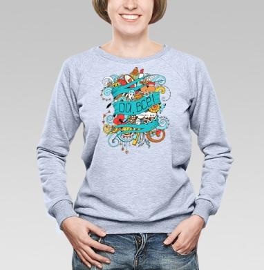 Ой всё - Купить детские свитшоты с надписями в Москве, цена детских свитшотов с надписями  с прикольными принтами - магазин дизайнерской одежды MaryJane