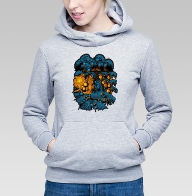 «Бессонница» - Купить детские толстовки военные в Москве, цена детских толстовок военных с прикольными принтами - магазин дизайнерской одежды MaryJane