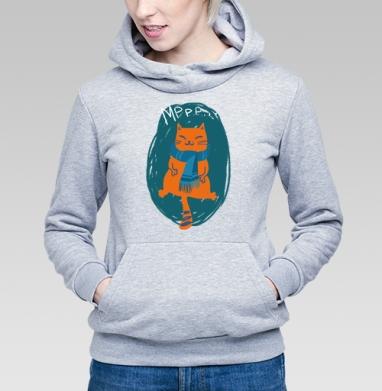 Ленивый кот - Купить детские толстовки осень в Москве, цена детских толстовок осенних  с прикольными принтами - магазин дизайнерской одежды MaryJane