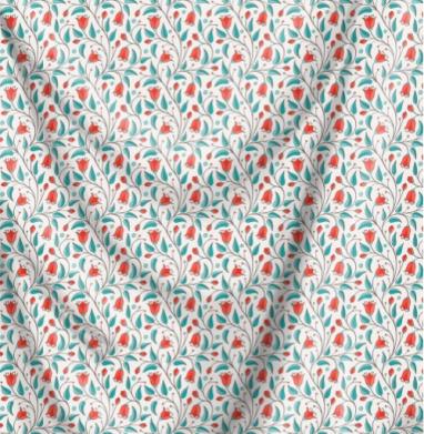 Летний луг - Печать на ткани